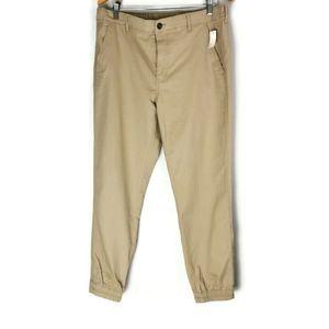 Amazon Essentials Slim Khaki Pants Elastic Cuffs L